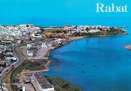 1 AK Marokko * Blick Auf Rabat Mit Der Kasbah Oudaïas Am Fluß Bou-Regreg  - Seit 2012 UNESCO Weltkulturerbe * - Rabat