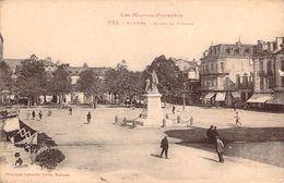 CPA Tarbes Place De Verdun (animée) P696 - Tarbes