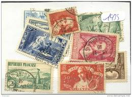 France  Années Completes (o) 1935 (10 Timbres) - ....-1939