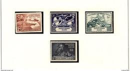 BR. SOLOMON Isl. UPU  1949  #84 - 87  MNH - Salomonen (...-1978)