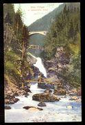 Slap Vintgar In Zelesnicni Most / Postcard Not Circulated, 2 Scans - Slovenia