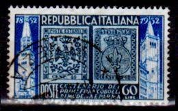 Italia-F01826 - 1952 - Sassone N. 690 (o) Used - Senza Difetti Occulti. - 6. 1946-.. Repubblica