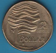 AUSTRALIA 1 DOLLAR 1993 KM# 208 LANDCARE - Decimal Coinage (1966-...)