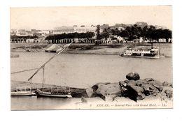 ÉGYPTE . ASSUAN . GENERAL VIEW WITH GRAND HOTEL - Réf. N°6584 - - Assuan