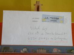 France > Lettre > Oblitérés 2017 > Machine à Affranchir - France
