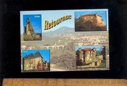 RETOURNAC Haute Loire 43 : Chateaux Artias Ribes Vaux Mercuret - Retournac