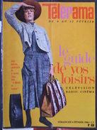 Télérama N°838 (6 Fév 1966) Julie Andrews Dans La Mélodie Du Bonheur- M Béjart - Odette Joyeux - JP Bonnefous - Televisione
