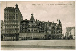 Oostende, Ostende, Les Hôtels De Londres Et Du Phare (pk41358) - Oostende