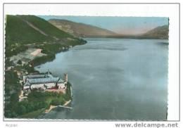 73 L'ABBAYE D'HAUTECOMBE Et Le Lac Du Bourget (cpsm) Couleur - France