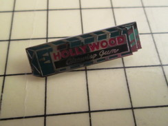 Pin511c Pin's Pins / Beau Et Rare / ALIMENTATION : CHEWING GUM HOLLYWOOD - Food