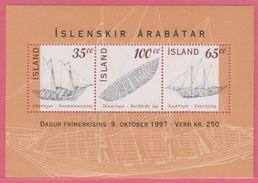 1997 ** Islande  (sans Charn., MNH, Postfrish)  Yv  BF 20Mi  Block 20FA  Block 20 - 1944-... Republik
