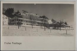 Erlenbach Im Simmental - Bezirksspital Im Winter En Hiver - Photo: R. Wenger - BE Berne