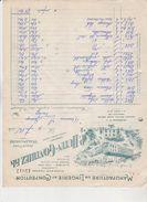 59 Walincourt , Manufacture De Lingerie Et Confection P HUTIN-GONTHIEZ Fils, Facture Illustré De 1913. Tb état. - Frankrijk