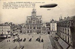 Le Raid Du CLEMENT-BAYARD Du 1er Novembre 1908, Partir De Sartrouville Se Rend à Pierrefonds  -  CPA - Dirigibili