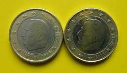 Münzen, EURO, Belgien, 1 Euro - 1999,2000, - Belgien