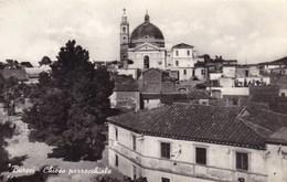 Cartolina - Burcei -Chiesa Parrocchiale- Viaggiata 1958 - Italy