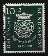 RFA - J-S. Bach YT 7 Obl. / Bund - Mi. Nr. 121 Gestempelt - [7] République Fédérale