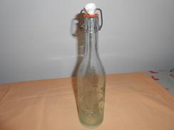 Bouteille Verre Ancienne Limonade - Brasserie Muller - Mende , Lozère - - Soda