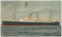 "Advert S.S. "" Veendam "" Sea Cancel Ocean Post Hoboken N.L. Paquebot To Woluwe St Lambert - Steamers"