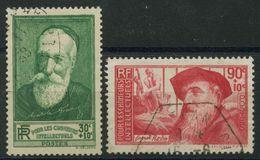 France (1937) N 343 à 344 (o) - France