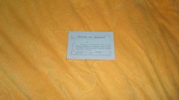 CARTE D'INVITATION QUI SERVIRA CARTE D'ENTREE ANCIENNE DE 1917. FOYER DU SOLDAT. ASSISTER AU CONCERT SAMEDI 9 JUIN 1917. - Tickets - Vouchers