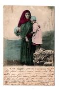 ÉGYPTE . Bédouine Et Ses Gosses - Réf. N°6597 - - Unclassified