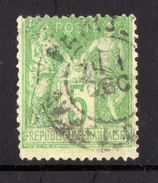 N° 102  - Sage (type III) - 1898-1900 Sage (Type III)
