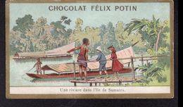 CHOCOLAT FELIX POTIN, UNE RIVIERE DANS L'ILE DE SUMATRA - Chocolate
