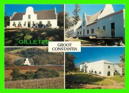 CAPE TOWN, AFRIQUE DU SUD - GROOT CONSTANTIA, MANOR HOUSE - 4 MULTIVUES - WAYRON POSTCARD DIST - - Afrique Du Sud