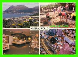 SIMON'S TOWN, AFRIQUE DU SUD - MINERAL WORLDS - 4 MULTIVUES -  WAYRON POSTCARD DIST. - - Afrique Du Sud
