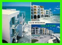 LANGEBAAN, AFRIQUE DU SUD - CLUB MYKONOS - 3 MULTIVUES -  WAYRON POSTCARD DIST. - - Afrique Du Sud