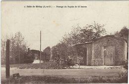 Seine Et Marne : Grisy, Halte De Grisy, Passage Du Rapide De 18 Heures - Other Municipalities