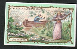 Chocolat Guerin Boutron, ..., DANEMARK, NENUPHAR - Guerin Boutron