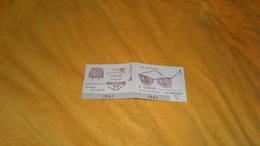 PETIT CALENDRIER PUBLICITAIRE DE 1961. / R. GOBIN PHARMACIEN OPTICIEN 48 RUE DES MERCIERS LA ROCHELLE. HOMEOPATHIE ORTHO - Calendars