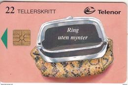 NORWAY - Portemone(081), Chip GEM1B, Tirage 50000, 08/96, Used - Norway