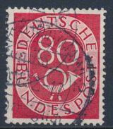 RFA - Série Cor Postal YT 23 Obl. / Bund - Posthorn Mi. Nr. 137 Gestempelt - [7] République Fédérale