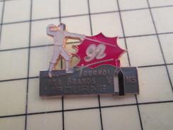 Pin512H Pin's Pins / Beau Et Rare / SPORTS : ESCRIME TOURNOI DES GRANDS VINS LIBOURNE 1992 - Fencing