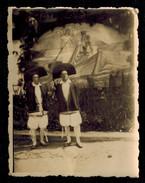 Photo 7.5 X 5.5 - Deux Hommes Paludiers Lors De La Fête Des Paludiers à Guérande Métier Du Sel --- Del330 - Métiers