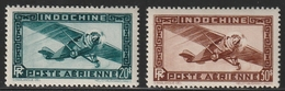 INDOCHINE PA 46/47 ** - Unused Stamps