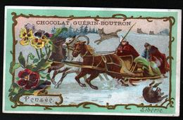 Chocolat Guerin Boutron, ..., SIBERIE, PENSEE - Guerin Boutron