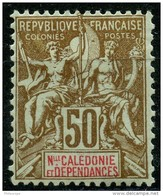 Nouvelle Caledonie (1900) N 63 * (charniere) - New Caledonia