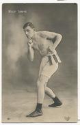 Willy Lewys Boxeur   ELD Sur Le Ring Carte Photo - Boxe