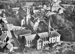 CPSM Dentellée - MOLSHEIM (67) - Vue Aérienne Du Quartier Du Couvent Notre-Dame Dans Les Années 50 - Molsheim