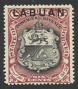 Labuan, 6 C. 1897, Sc # 78, Mi # 74, MH. - North Borneo (...-1963)