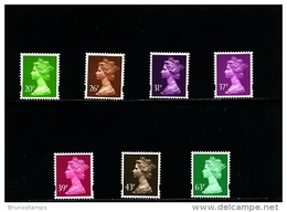 GREAT BRITAIN - 1996  MACHIN  SET  MINT NH - 1952-.... (Elizabeth II)