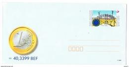 België 1999 Enveloppe EURO - Entiers Postaux