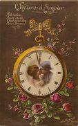 Guerre 1914-18 -ref L833- Couples - Couple - L Heure D Amour -montre A Gousset - Carte Bon Etat  - - Weltkrieg 1914-18