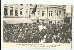 Berchem    *  Inauguration Du Monument Frédéric De Mérode - L'Arrivée De S.A.R. Prince Albert à La Gare - Antwerpen