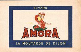 BUVARD AMORA LA MOUTARDE DE DIJON - Mostard