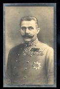 Erzherzog Franz Ferdinand Von Oesterreich / Postcard Not Circulated, 2 Scans - Familles Royales